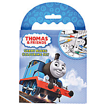 Buy Thomas & Friends Carry Along Colouring Set Online at johnlewis.com