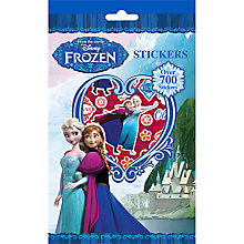Buy Disney Frozen Stickers, Pack of 700 Online at johnlewis.com