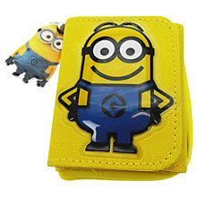 Buy Minions Zip Wallet Online at johnlewis.com