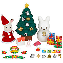 Buy Sylvanian Families Christmas Set Online at johnlewis.com