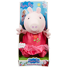 Buy Peppa Pig Princess Rose Peppa Doll Online at johnlewis.com