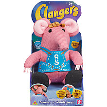 Buy Clangers Squeeze 'n' Whistle Soft Toy, Assorted Online at johnlewis.com