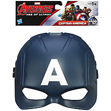 Buy Avengers Age of Ultron Play Mask, Assorted Online at johnlewis.com