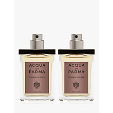 Buy Acqua di Parma Colonia Intensa Travel Spray Refill, 2 x 30ml Online at johnlewis.com