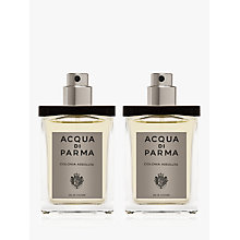 Buy Acqua di Parma Colonia Assoluta Travel Spray Refill, 2 x 30ml Online at johnlewis.com