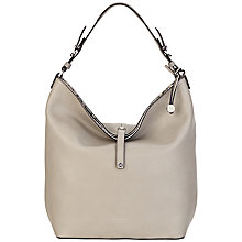 Buy Fiorelli Nina Hobo Bag, Grey/Snake Online at johnlewis.com