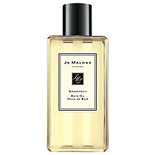 Buy Jo Malone Grapefruit Bath Oil, 250ml Online at johnlewis.com