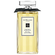 Buy Jo Malone Lime Basil & Mandarin Bath Oil, 200ml Online at johnlewis.com