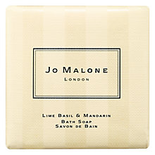 Buy Jo Malone Lime Basil & Mandarin Bath Soap, 100g Online at johnlewis.com