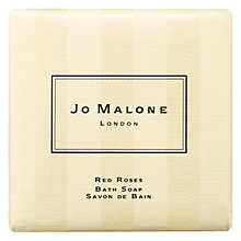 Buy Jo Malone London Red Roses Bath Soap, 100g Online at johnlewis.com