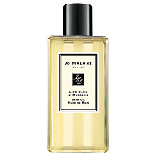 Buy Jo Malone Lime Basil & Mandarin Bath Oil, 250ml Online at johnlewis.com