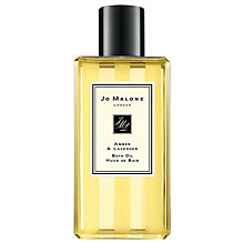 Buy Jo Malone Amber & Lavender Bath Oil, 250ml Online at johnlewis.com