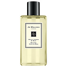 Buy Jo Malone White Jasmine & Mint Bath Oil, 250ml Online at johnlewis.com