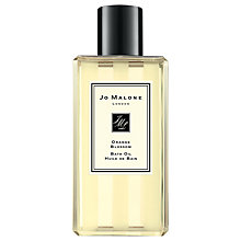 Buy Jo Malone Orange Blossom Bath Oil, 250ml Online at johnlewis.com
