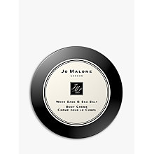 Buy Jo Malone London Wood Sage & Sea Salt  Body Creme, 175ml Online at johnlewis.com
