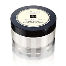 Buy Jo Malone London Amber & Lavender Body Crème, 175ml Online at johnlewis.com