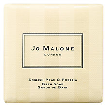 Buy Jo Malone London English Pear & Freesia Bath Soap, 100g Online at johnlewis.com