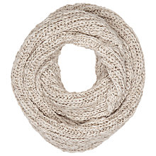 Buy Phase Eight Leila Knitted Snood, Oatmeal Online at johnlewis.com