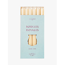 Buy Cire Trudon Royale Tapered Dinner Candles, Set of 6 Online at johnlewis.com