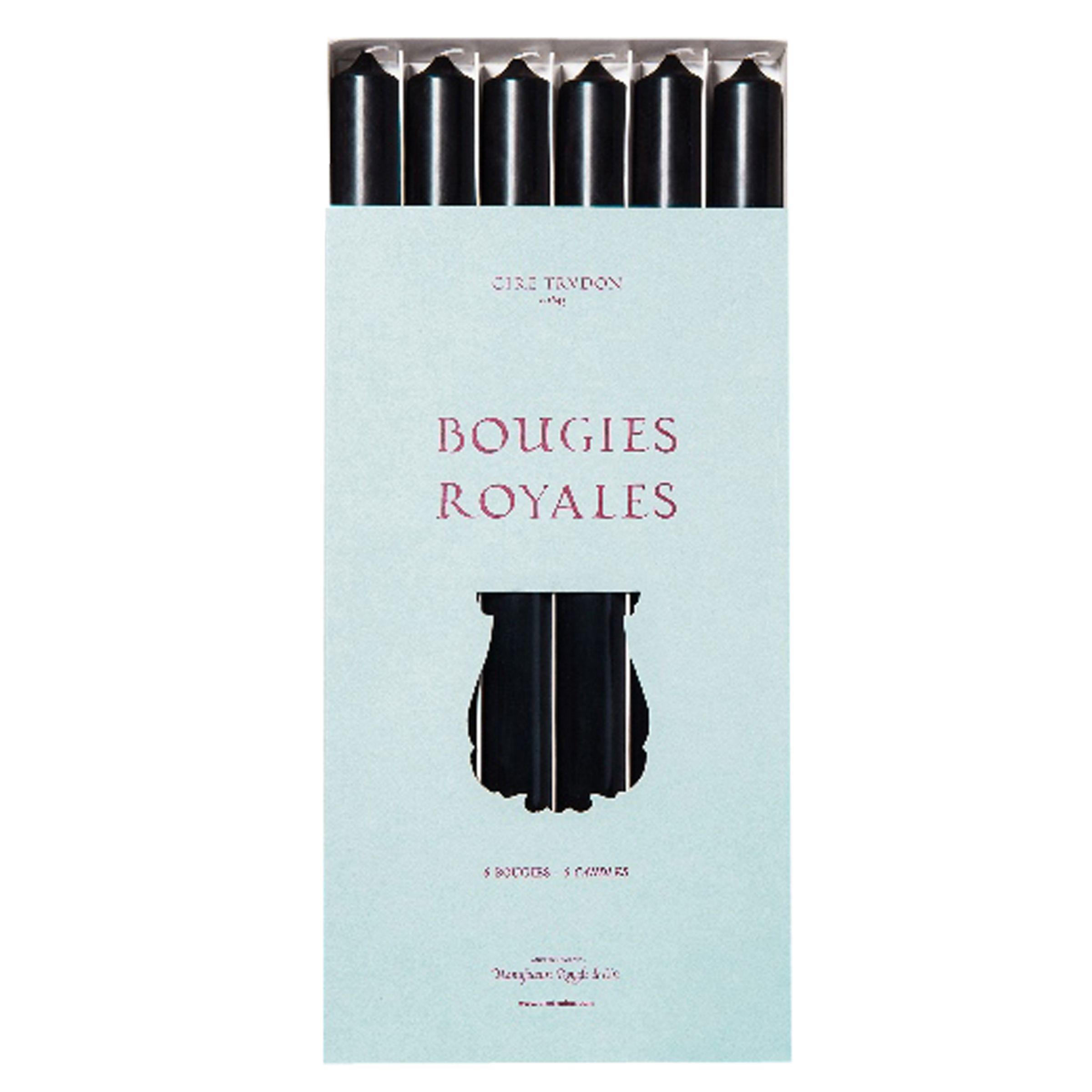 Cire Trudon Cire Trudon Royale Tapered Dinner Candles, Set of 6