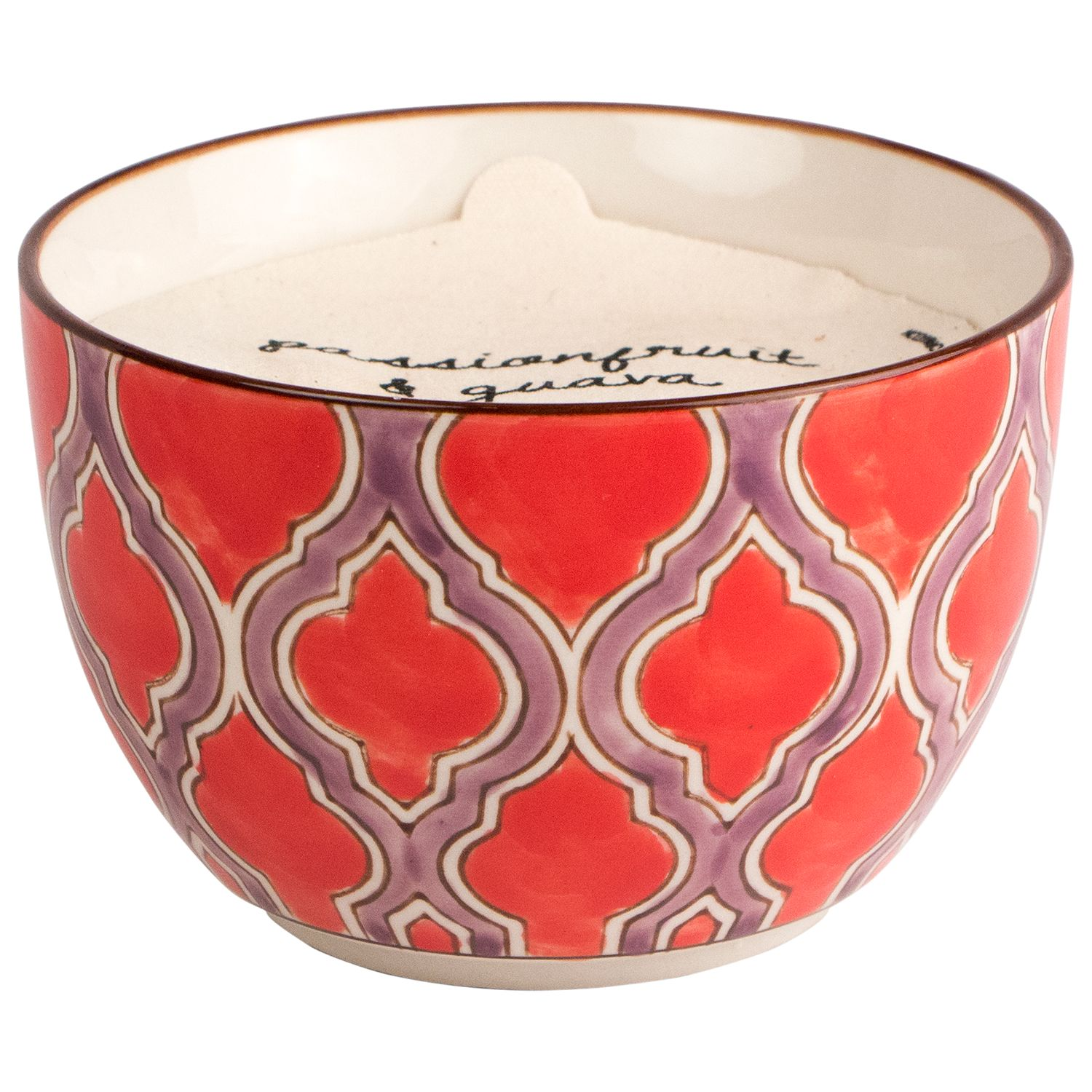 Paddywax Paddywax Boheme Large Passionfruit and Guava Scented Candle