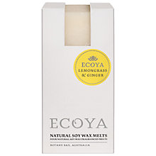Buy Ecoya Soy Melts, Lemongrass and Ginger Online at johnlewis.com