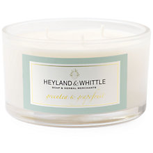 Buy Heyland & Whittle Green Tea & Grapefruit Triple Wick Candle Online at johnlewis.com