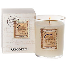 Buy Geodesis Scented Candle In a Jar, Tonka Online at johnlewis.com