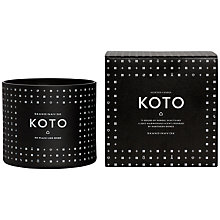 Buy SKANDINAVISK Koto 4 Wick Scented Candle Online at johnlewis.com
