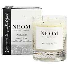 Buy Neom Perfect Peace Standard Candle Online at johnlewis.com