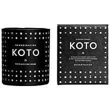 Buy SKANDINAVISK Koto Scented Candle Online at johnlewis.com