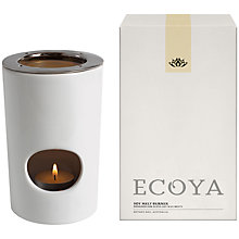 Buy Ecoya Soy Melt Burner Online at johnlewis.com