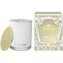 Buy Ecoya Madison Pine Needles Scented Candle Online at johnlewis.com