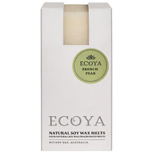 Buy Ecoya Soy Melts, French Pear Online at johnlewis.com
