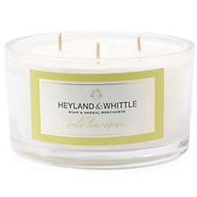 Buy Heyland & Whittle Wild Lemongrass Triple Wick Candle Online at johnlewis.com
