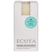 Buy Ecoya Soy Melts, Lotus Flower Online at johnlewis.com