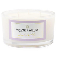 Buy Heyland & Whittle Jasmine & Lilac Triple Wick Candle Online at johnlewis.com