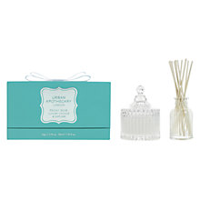 Buy Urban Apothecary Peony Rose Candle and Diffuser Gift Set Online at johnlewis.com