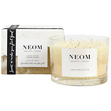 Buy Neom Christmas Wish 3 Wick Candle Online at johnlewis.com