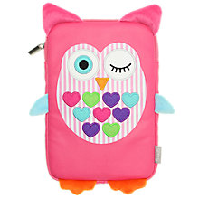 "Buy My Doodles Universal Case for Tablets up to 7"", Owl Online at johnlewis.com"