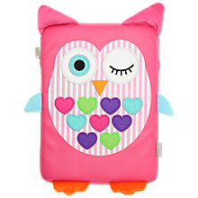 "Buy My Doodles Universal Case for Tablets up to 10"", Owl Online at johnlewis.com"