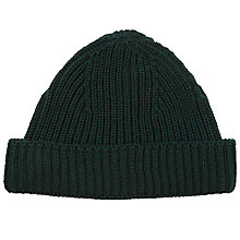 Buy JOHN LEWIS & Co. Fisherman Ribbed Beanie, One Size Online at johnlewis.com