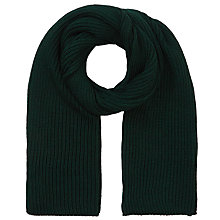 Buy JOHN LEWIS & Co. Fisherman Ribbed Wool Scarf Online at johnlewis.com
