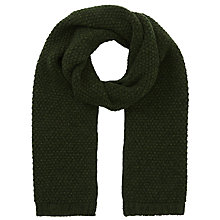 Buy JOHN LEWIS & Co. Popcorn Wool Scarf Online at johnlewis.com