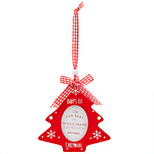 Buy John Lewis First Christmas Tree Decoration Online at johnlewis.com