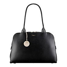 Buy Radley Millbank Large Tote Bag, Black Online at johnlewis.com