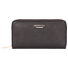 Buy Modalu Wilton Zip Saffiano Effect Purse Online at johnlewis.com