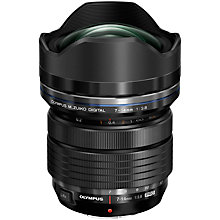 Buy Olympus M.ZUIKO PRO Digital ED 7-14mm f2.8 Compact Ultra Wide Angle Zoom Lens Online at johnlewis.com