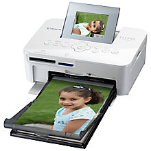 Buy Canon SELPHY CP1000 Portable Photo Printer Online at johnlewis.com