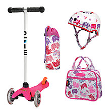 Buy Micro Scooters Elephant Set Online at johnlewis.com